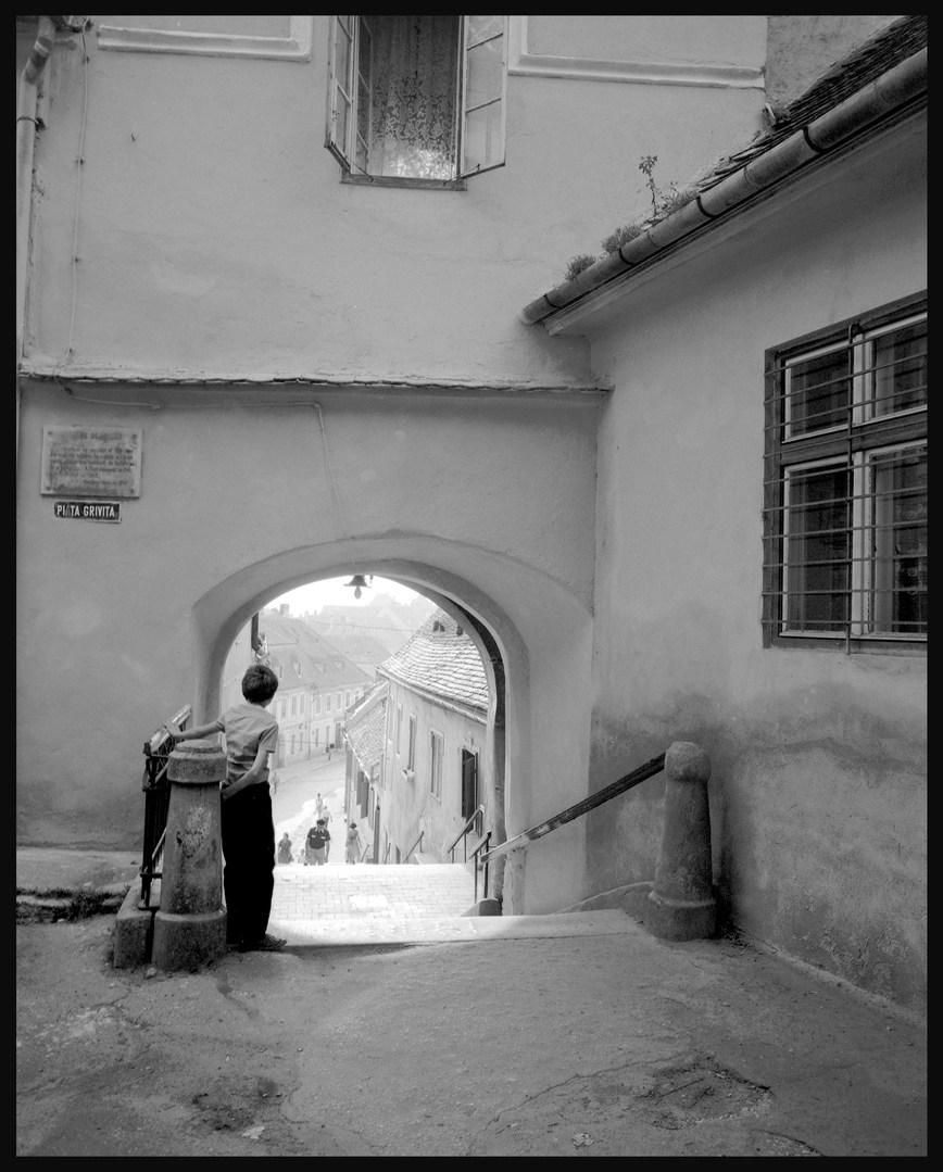 Sibiu. July, 1988.