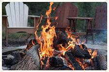 Feu camping percé forillon gaspé gaspésie rivière au renard