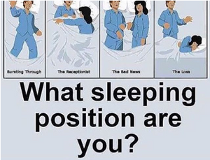"""Loss"" meme as sleeping positions"