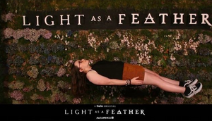 "Our staffer, Hannah Robbins at the ""Light as a Feather"" premiere. Photo Courtesy of Hannah Robbins//Pressing the Future"