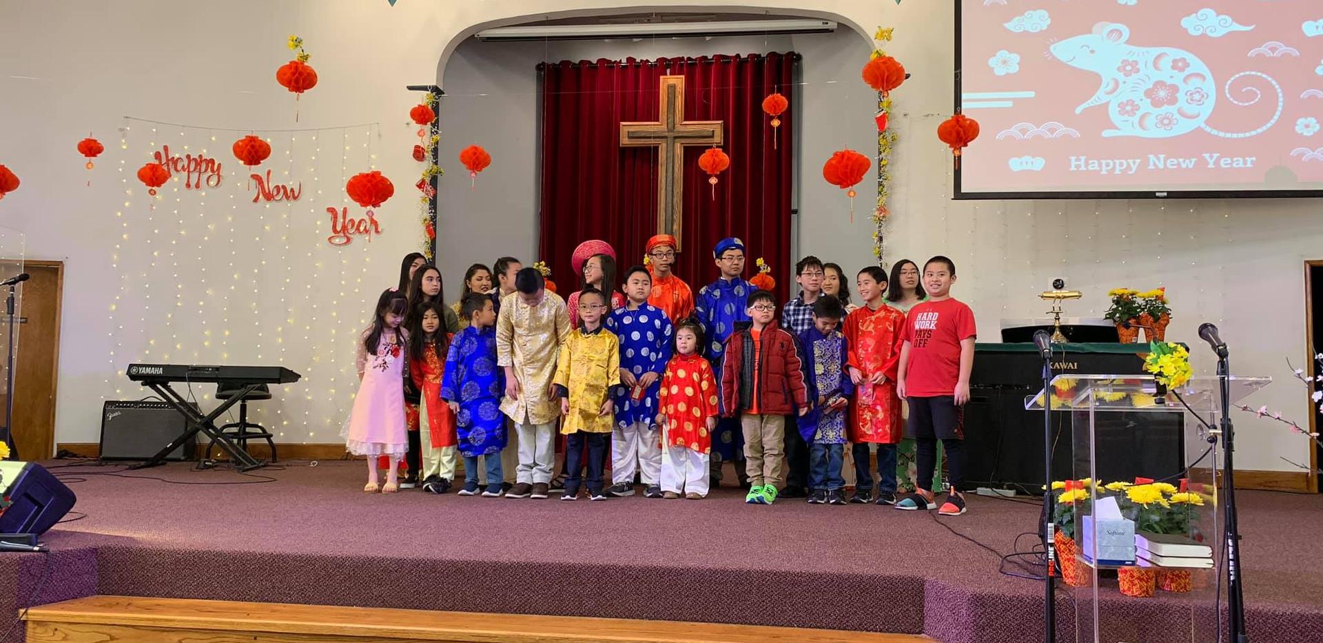 Children's minsitry (Tết 2020)