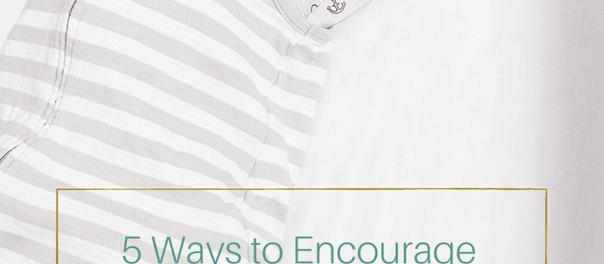 5 Ways to Encourage Crib Naps