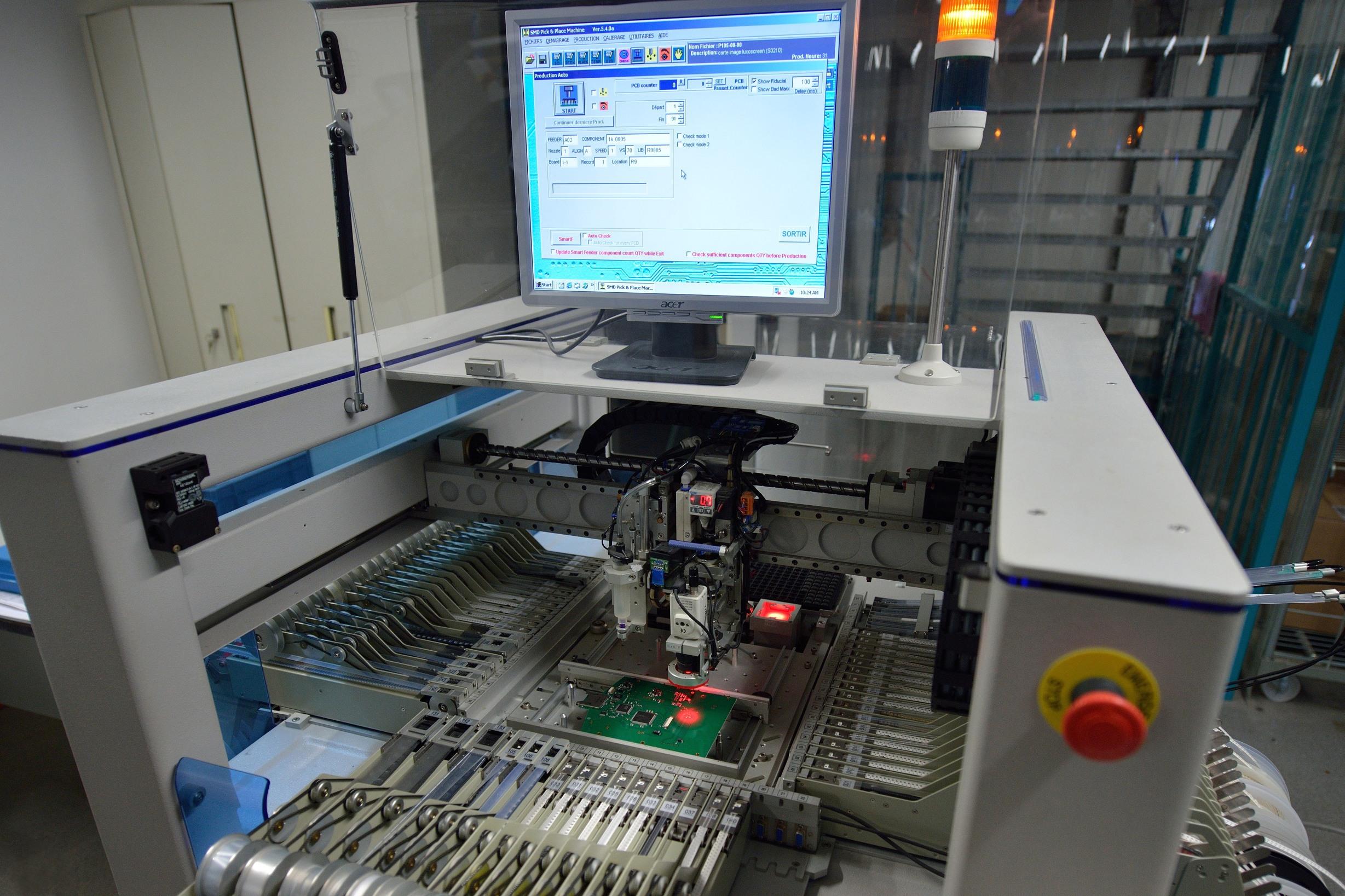Fabrication de cartes électroniques