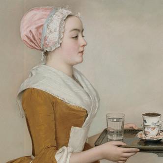 La belle chocolatière, par Jean-Etienne Liotard