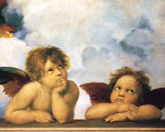 Derrière les anges, La Madone Sixtine
