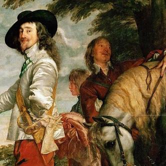 Le roi à la chasse ; Van Dyck et le portrait royal à la cour d'Angleterre.