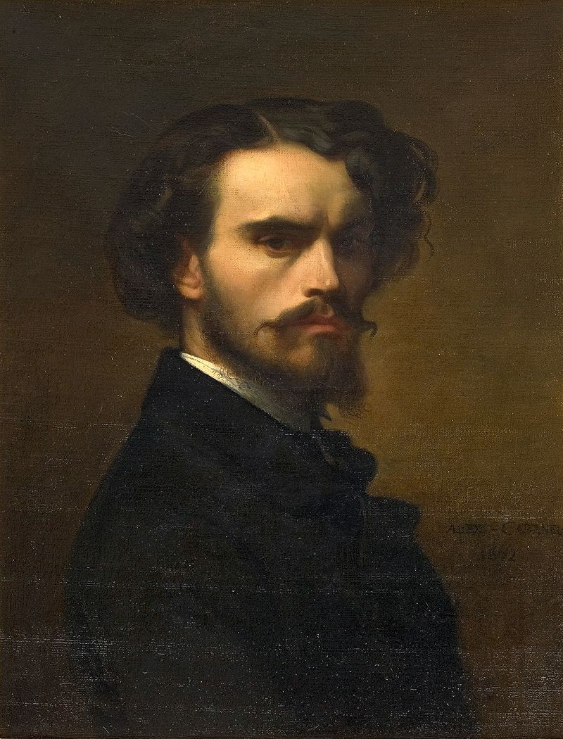 Autoportrait, Alexandre Cabanel, 1852, Musée Fabre, Montpellier