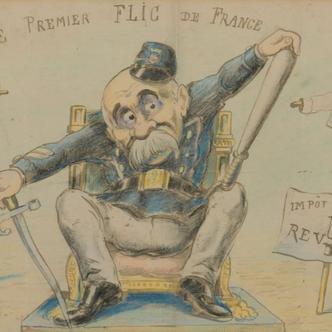 Un ensemble exceptionnel de dessins de Georges Méliès aux enchères.