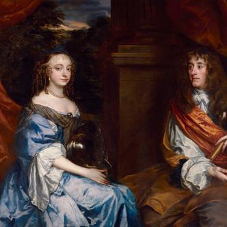 Jacques Stuart et son épouse Anne Hyde par Peter Lely