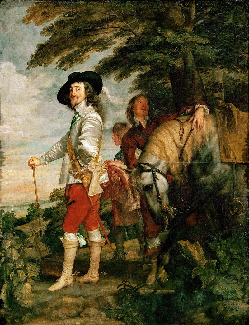 Antoon Van Dyck, Charles 1er dit le Roi à la chasse, vers 1636, Paris, Musée du Louvre
