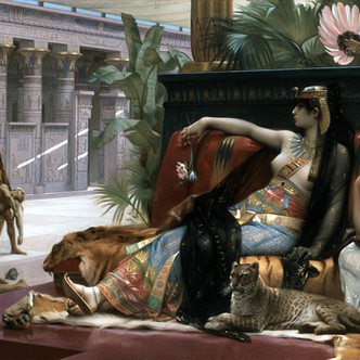 Cléopâtre essayant des poisons sur des condamnés à mort, Alexandre Cabanel