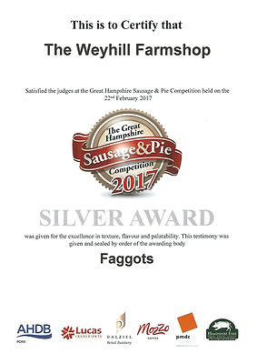 Award Winning Faggots