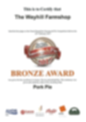 Award Winning Pork Pie