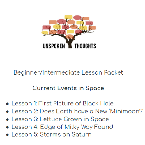 Current Events in Space: Lesson Packet