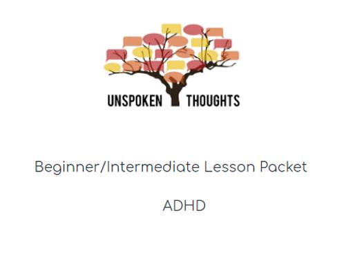 ADHD Lesson
