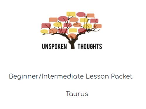 Taurus Lesson