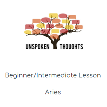 Aries Lesson