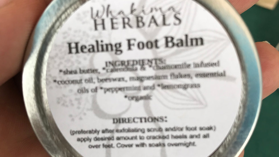 Healing Foot Balm w/Magnesium