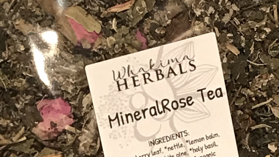 MineralRose Tea