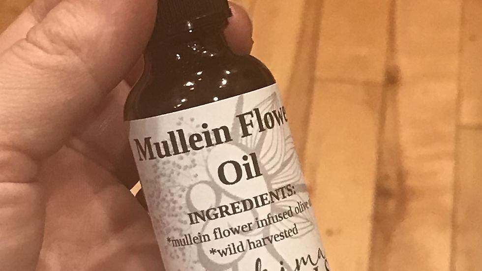 Mullein Flower Oil