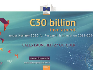 The new Horizon 2020 Work Programme from 2018 to 2020