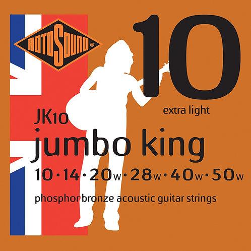 ROTOSOUND JK10 Jumbo King 010 - 050
