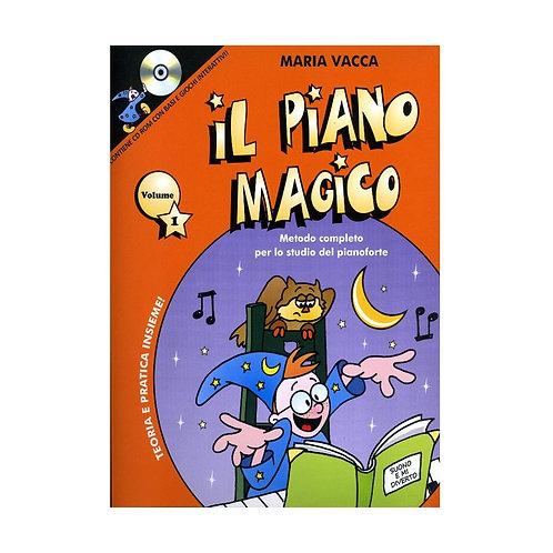 IL PIANO MAGICO VOL.1 + CD di MARIA VACCA
