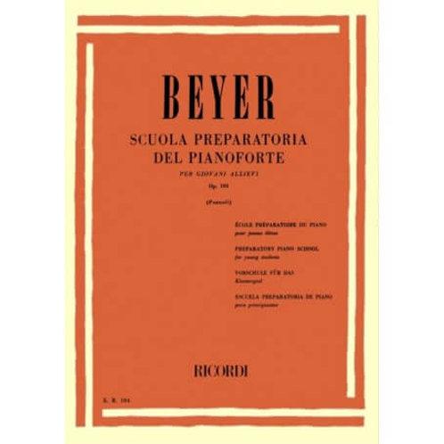 BEYER Scuola Preparatoria del Pianoforte
