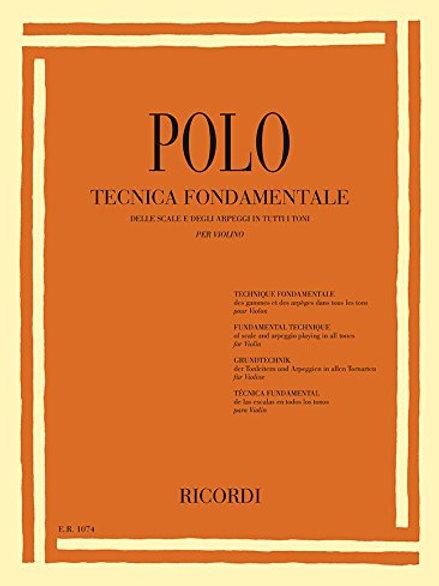 Polo: Tecnica fondamentale (Violin Solo)