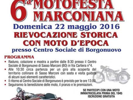 22/05 - 6° MOTOFESTA MARCONIANA