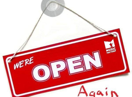 Yes, We Are Open Again!