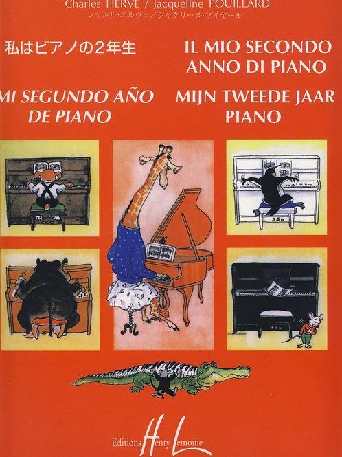 Charles Herve – Jacquelin Pouillard – Il mio secondo anno di piano