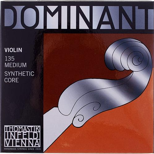 THOMASTIK DOMINANT 135 MEDIUM SYNTHETIC CORE MUTA DI CORDE 4/4 PER VIOLINO
