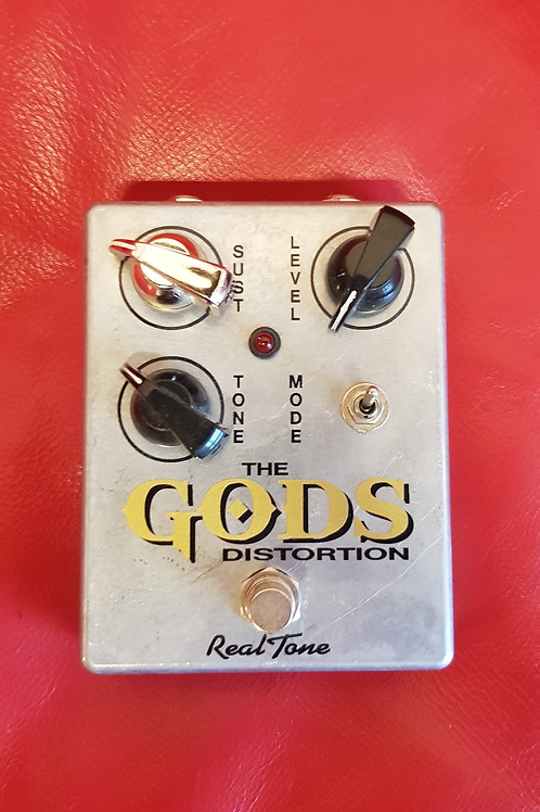 "Real Tone, The GODS Distortion  ""GOLDEN KNOB"""
