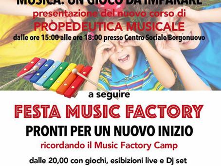 08/09 OPEN DAY e Borgo in Festa