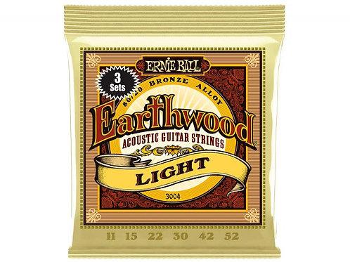 ERNIE BALL 2004 Earthwood 80/20 Bronze Light 011 - 052