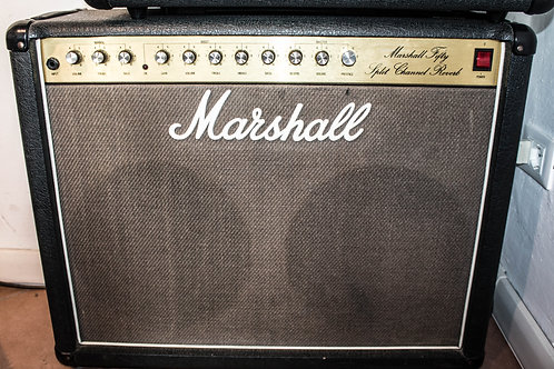 Marshall Fifty, Split Channel Reverb, 5212 VINTAGE