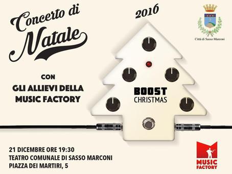 21/12 - CONCERTO DI NATALE MUSIC FACTORY