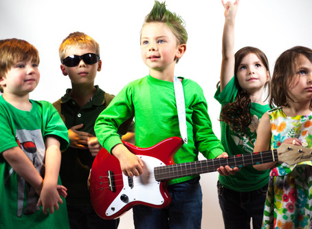 18/01 KIDS BAND Music Factory at Esserdanza