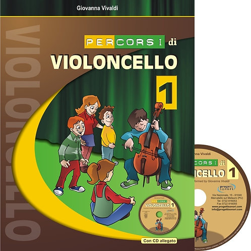 Percorsi di Violoncello vol. 1