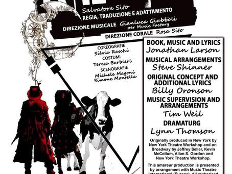31 Gennaio - 1 e 2 Febbraio 'RENT' Il Musical al Teatro Dehon
