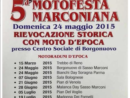 5° MOTOFESTA MARCONIANA 2015