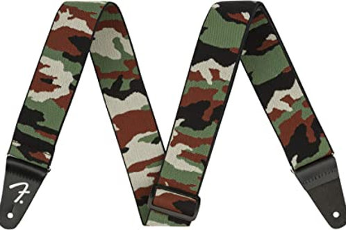 """FENDER WeighLess Camo 2"""" Strap"""