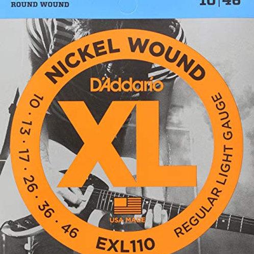 D'ADDARIO EXL110 Regular Light 010 - 046