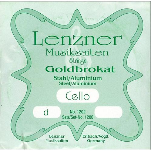 Corda per violoncello D - RE LENZNER string