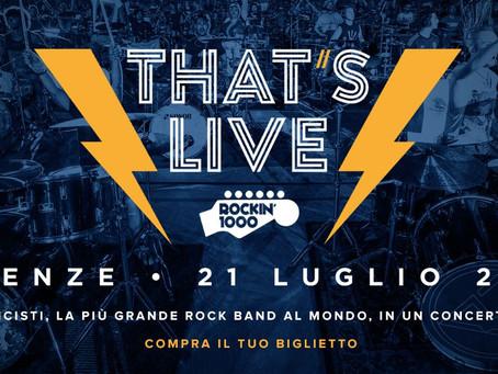 21/07 ROCK IN MILLE Firenze