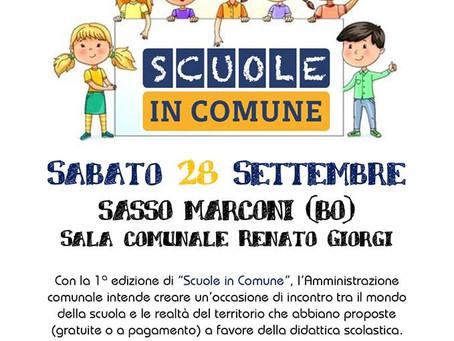 28/09 SCUOLE IN COMUNE a Sasso Marconi