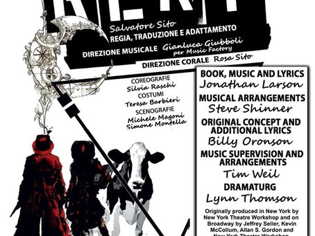 24 e 25 Gennaio RENT Il Musical al Cine Teatro Fanin