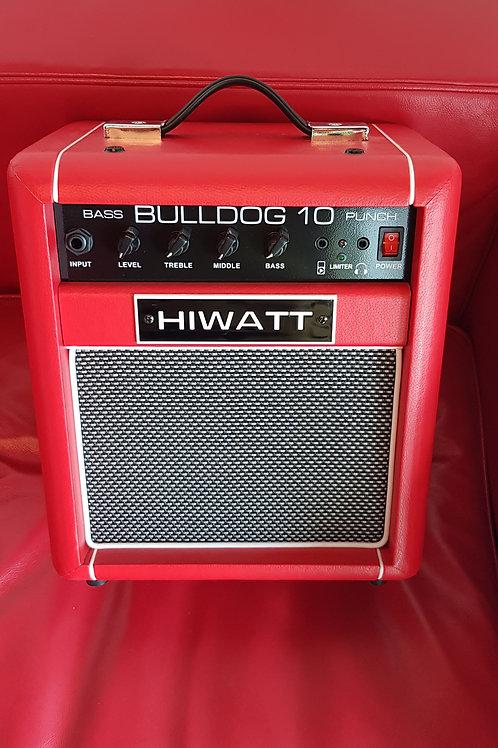 HIWATT Bulldog 10 Red - Combo Basso UK