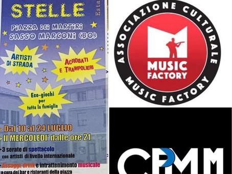 24/07 Piazza sotto le stelle a Sasso Marconi